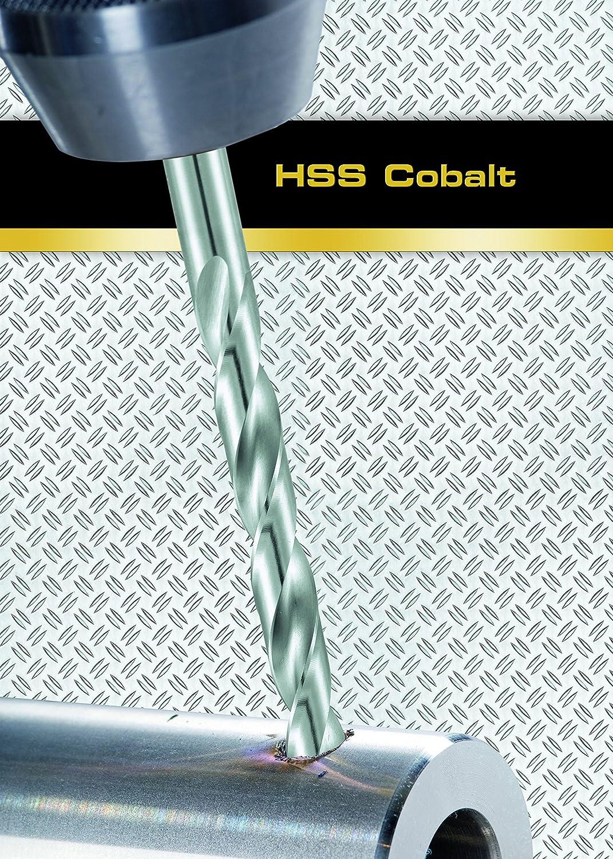 Gris Alpen 62300150100 Cobalt Foret h/élico/ïdal HSS-ECO DIN 338 RN C 1,5 mm