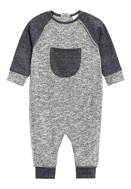 next Bebé-Niños Pelele Texturizado (0 Meses - 2 Años) Gris 1.5-2 Años: Amazon.es: Ropa y accesorios