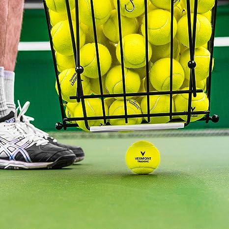 Vermont Cesta Recogepelotas de Tenis/Pádel (Capacidad de 72 ...