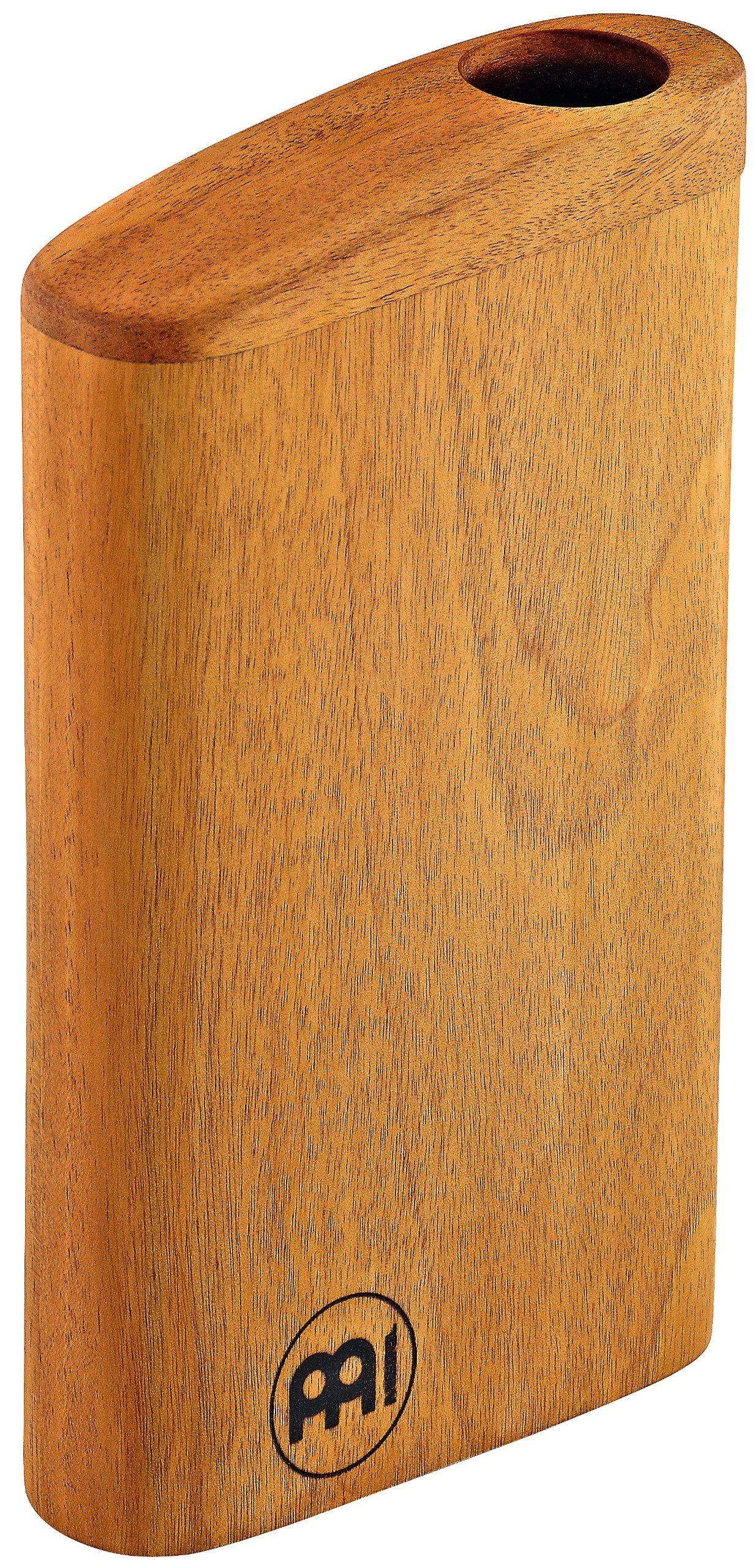 Meinl Percussion DDG-BOX Compact Travel Didgeridoo, Mahogany (8 1/2'' x 5'')