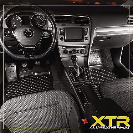 A/ño de fabricaci/ón 2004-2012 Walser XTR Tapetes de Goma Alfombrillas para Coche Compatible con BMW 3er E90