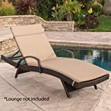Christopher Knight Home 603 Salem Chaise Outdoor Lounge (Set of 2)