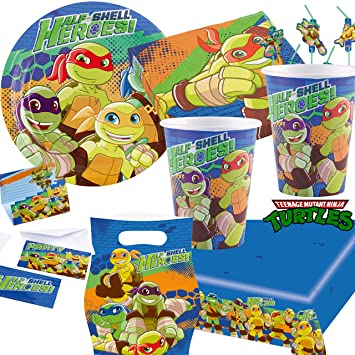 101 Juego de * Teenage Mutant Ninja Turtles * Fiesta de ...