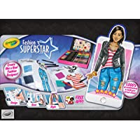 Deals on Crayola Fashion Superstar Coloring Book and App