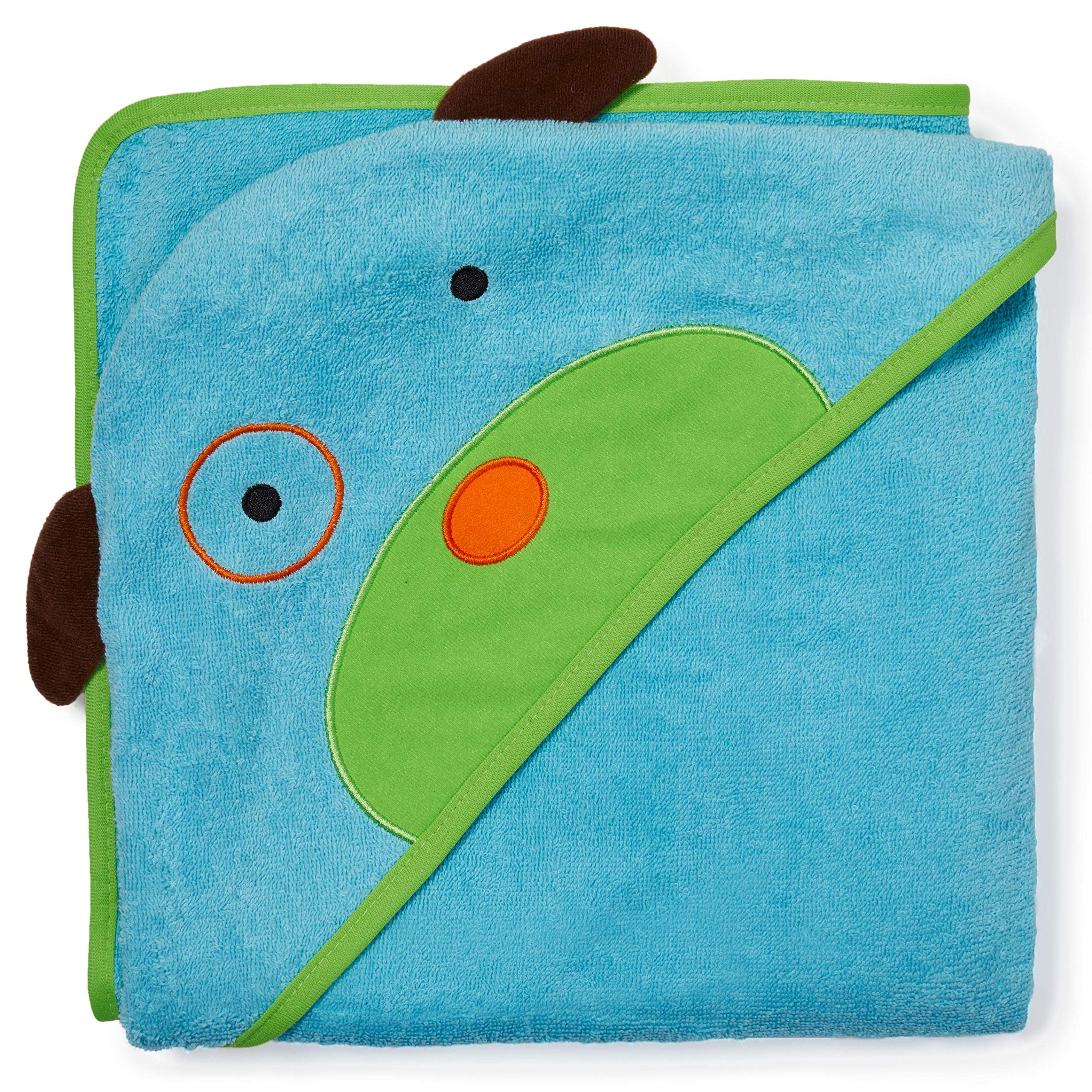 Skip Hop Baby Hooded Towel, 100% Cotton French Terry, Dog by Skip Hop