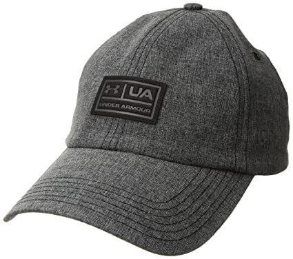 huge discount 7cfe2 3186b Under Armour Men s Performance Lifestyle Dad Cap, Black (001) Anthracite,  One