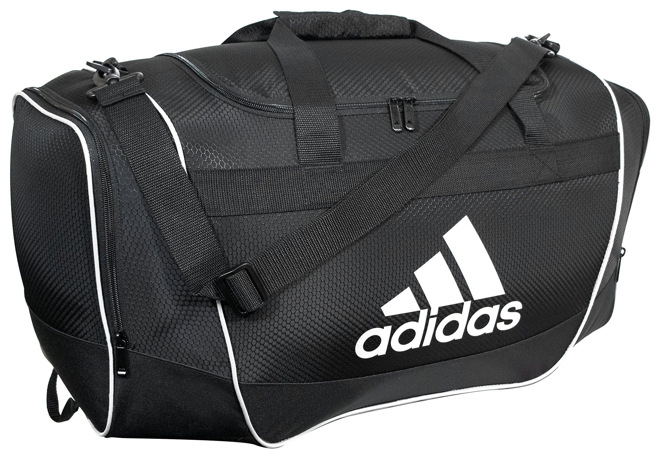 adidas Defender II Duffel Bag, Black, Small