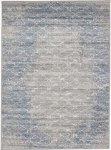 eCarpetGallery Impressions area rugs, 5 3 x 7 3 , Navy Blue