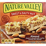 Nature Valley Sweet & Salty Nut Granola Bars, Almond, 6 ct, 1.2 oz each