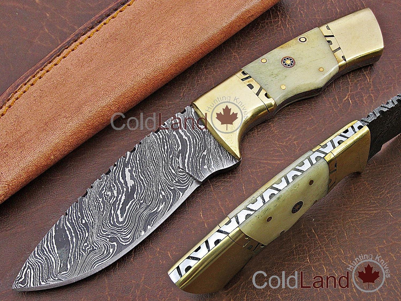 ColdLand UH26-2 - Cuchillo de Caza de Acero Forjado a Mano ...
