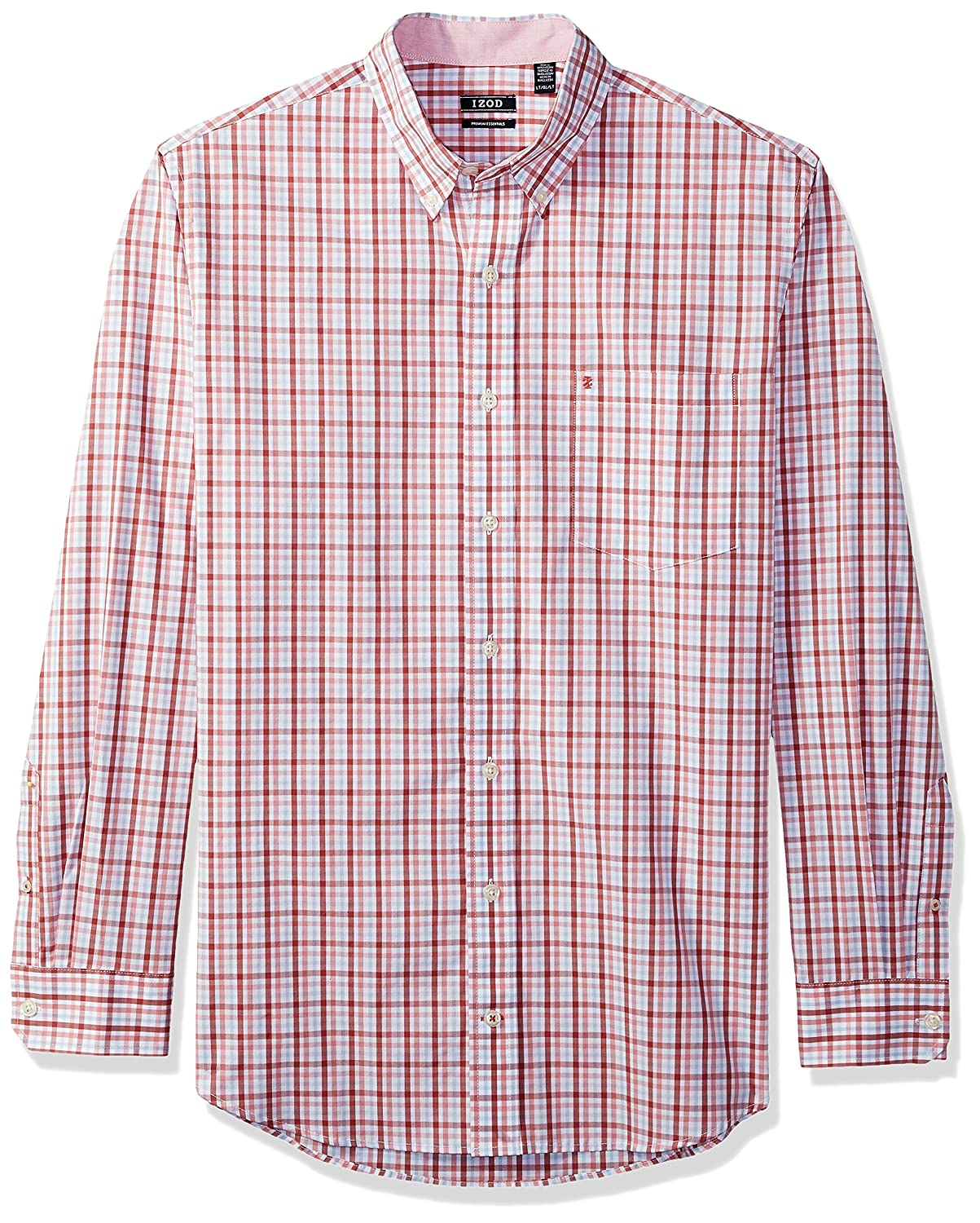 IZOD SHIRT メンズ B071YZJP37 3X Tall|Saltwater Red Saltwater Red 3X Tall