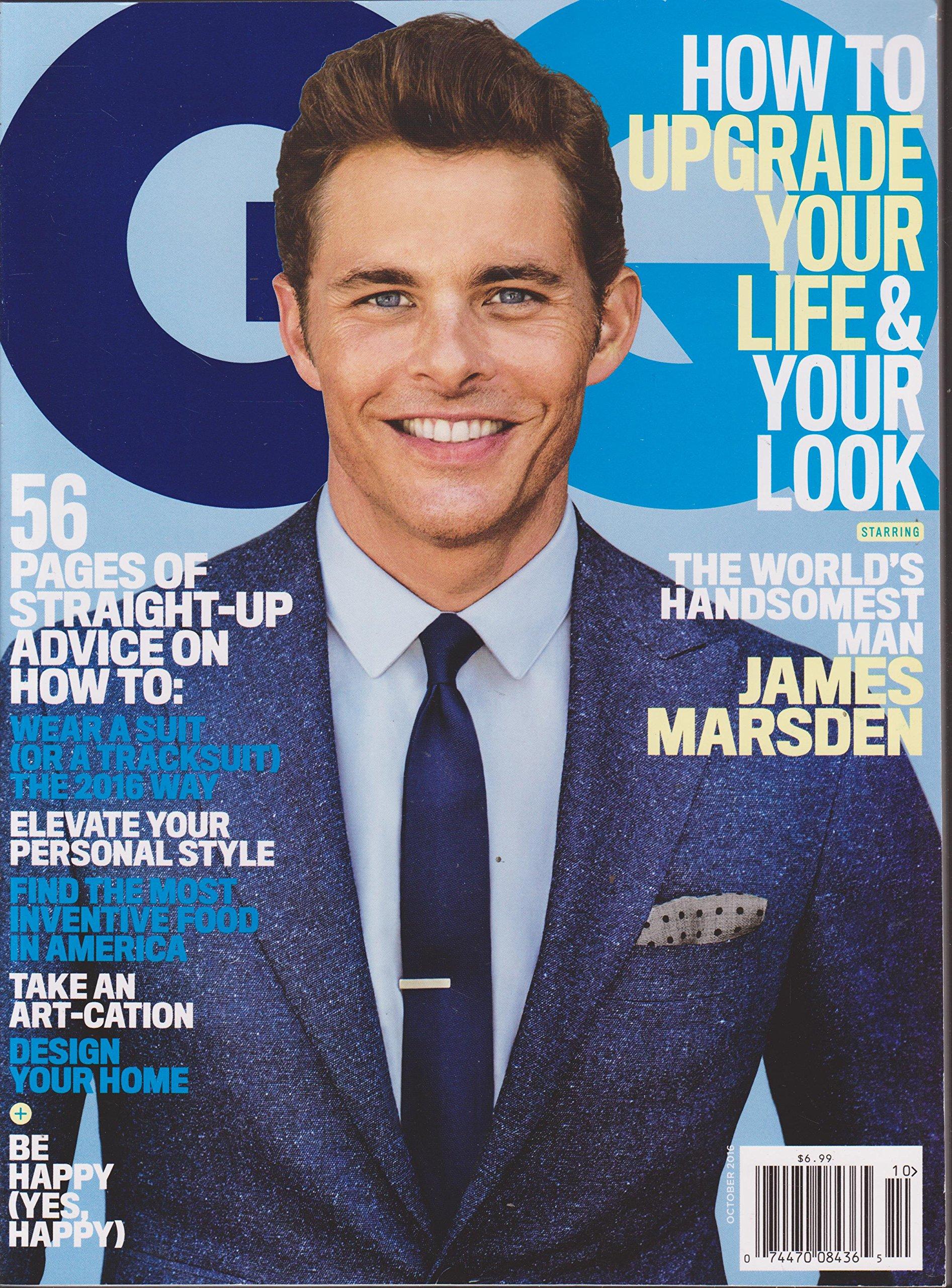 gq magazine october 2016