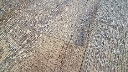Turtle Bay Floors Waterproof Click 5.5mm WPC Flooring   Rustic Sawn Oak  Floating Floor