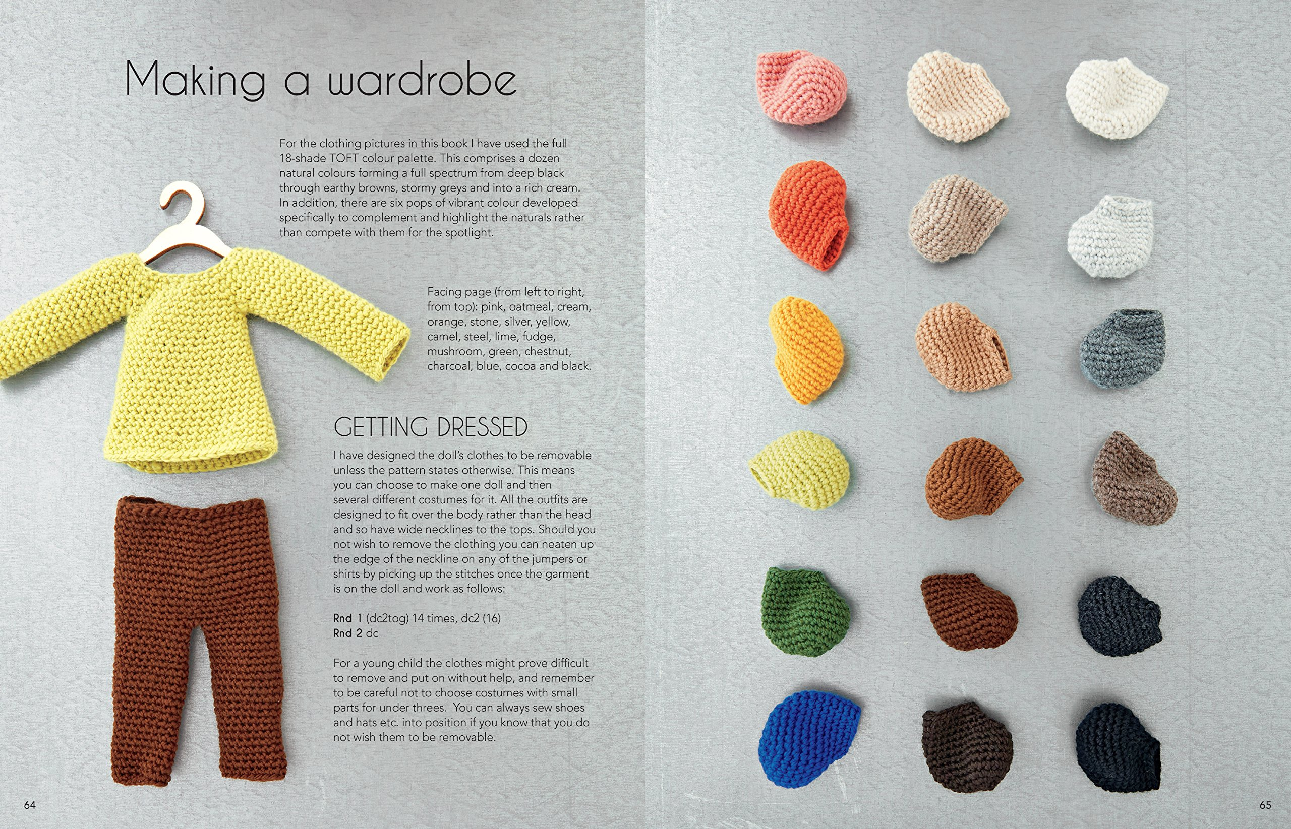 Edward\'s Crochet Doll Emporium: Flip the mix-and-match patterns to ...