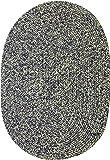 Sabrina Tweed Indoor/Outdoor Oval Braided Rug, 7 by