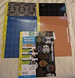 Star Wars Trapper Keeper 5 Tabbed Dividers by Mead, Assorted Designs, Colored Tabs