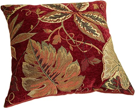 Brentwood 8245 Sagaponack Red Pillow, 18-Inch