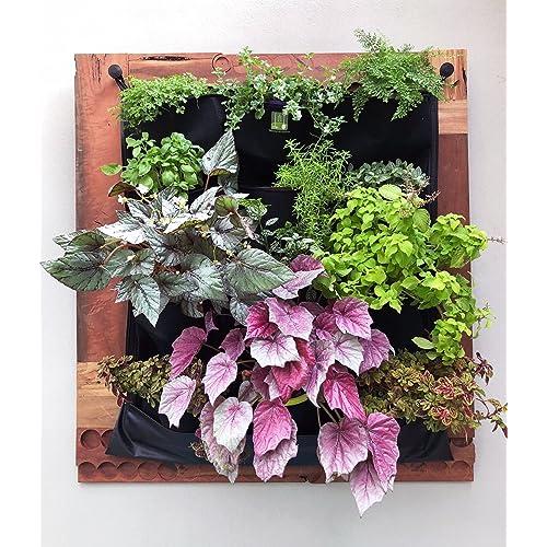 Indoor vertical garden - Indoor living wall planter ...