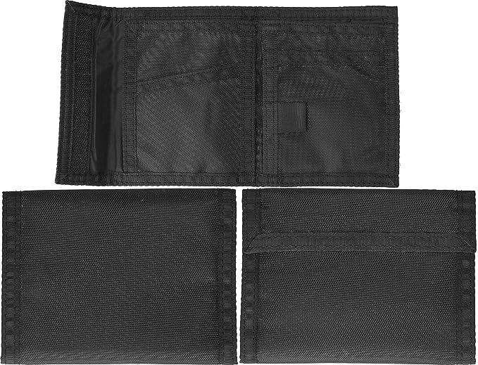 Amazon.com  Black Military Tri-Fold Commando Army Wallet by Army ... 96028f03ce5