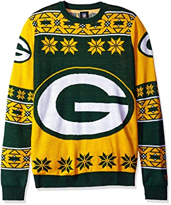 brand new 3ab15 52a3e Klew Ugly Sweater Green Bay PACKERS, Large