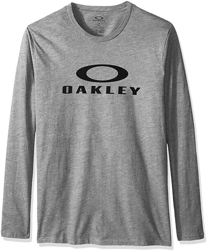 911280340 Amazon.com: Oakley Men's Bark Repeat Long Sleeve T-Shirt, Heather Grey,  X-Large: Clothing