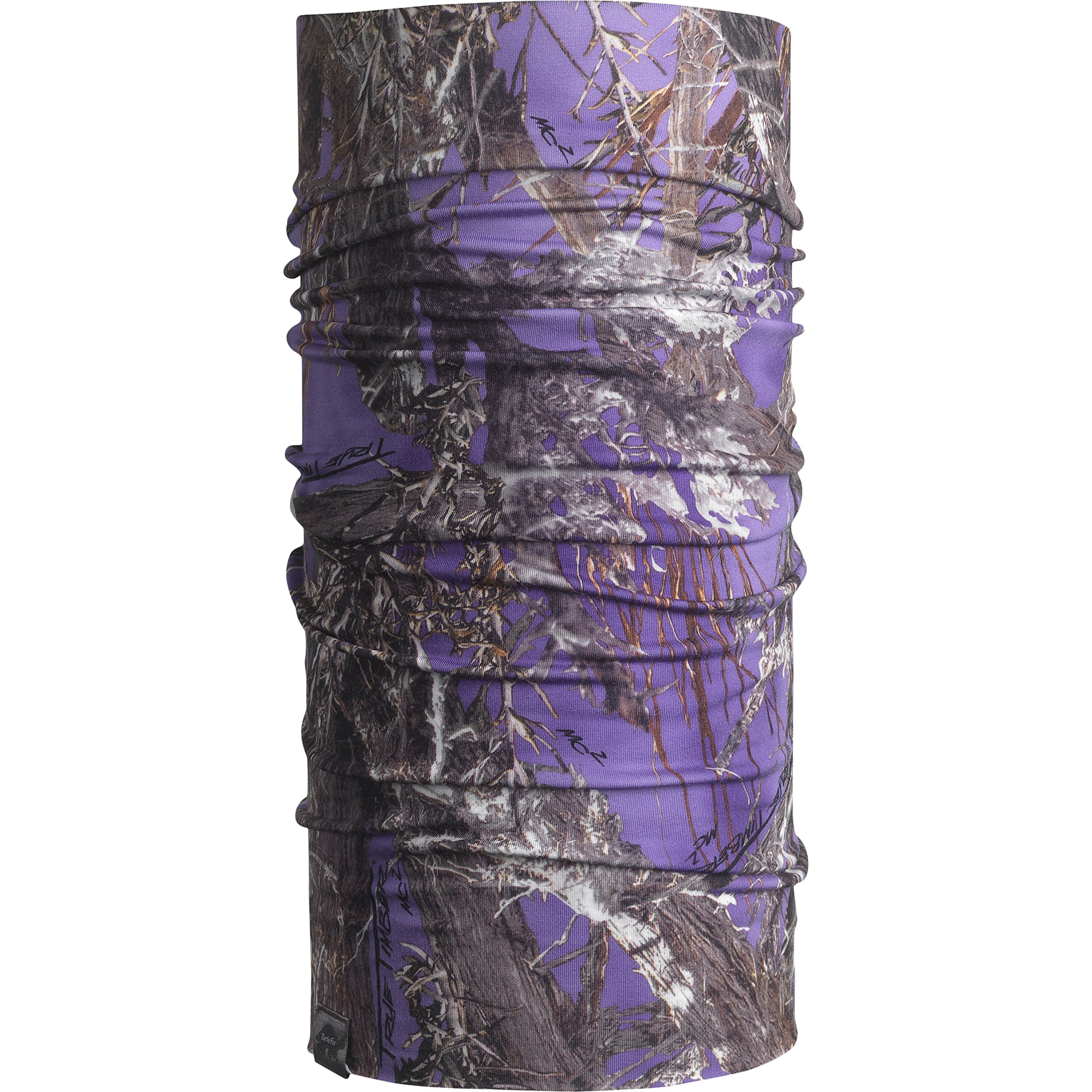Turtle Fur Camo - Totally Tubular, Lightweight Neck Warmer, TrueTimber MC2 Purple