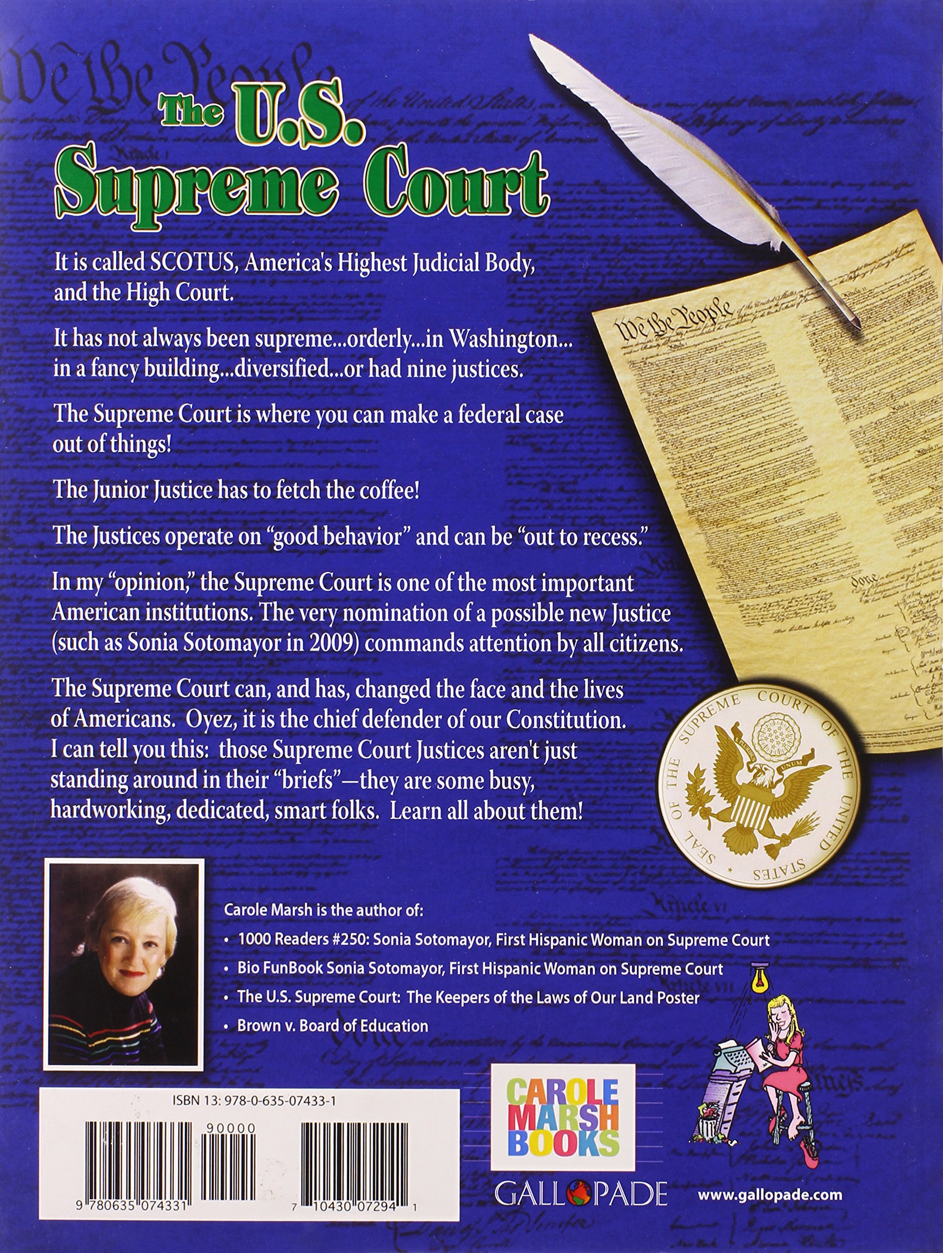 The U S  Supreme Court: The Keepers of the Laws of Our Land