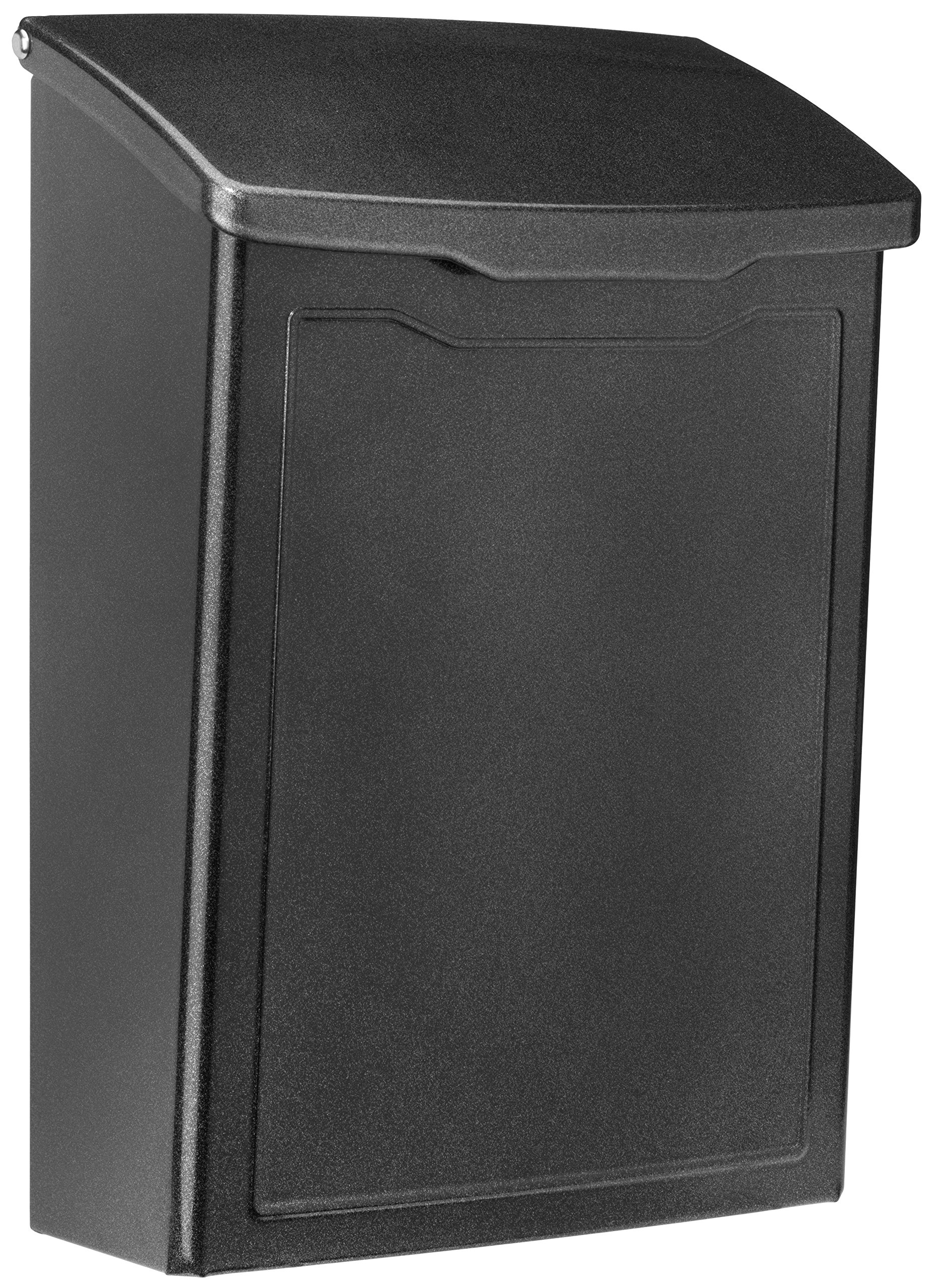 ARCHITECTURAL MAILBOXES 2681P Architectural Mailboxes Marina Wall Mount Mailbox Marina Wall Mount Mailbox, Small, Pewter