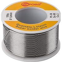 Fixpoint 51065 - Rollo de hilo de estaño (1 mm, 100 g)