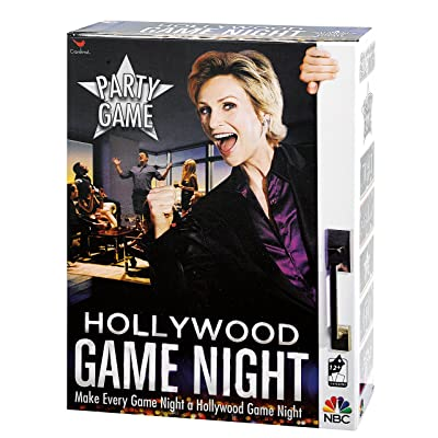 Hollywood Game Night Party Game: Toys & Games