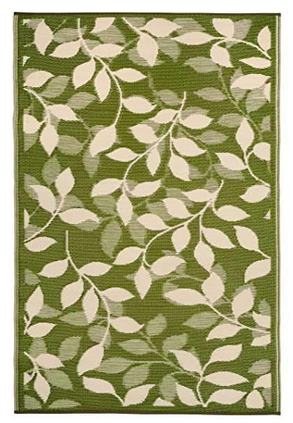 Amazon.com : Fab Habitat Bali Indoor/Outdoor Rug, Forest Green ...
