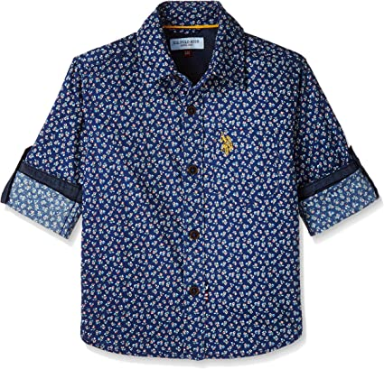 US Polo Association Boys' Shirt Boys' Shirts at amazon