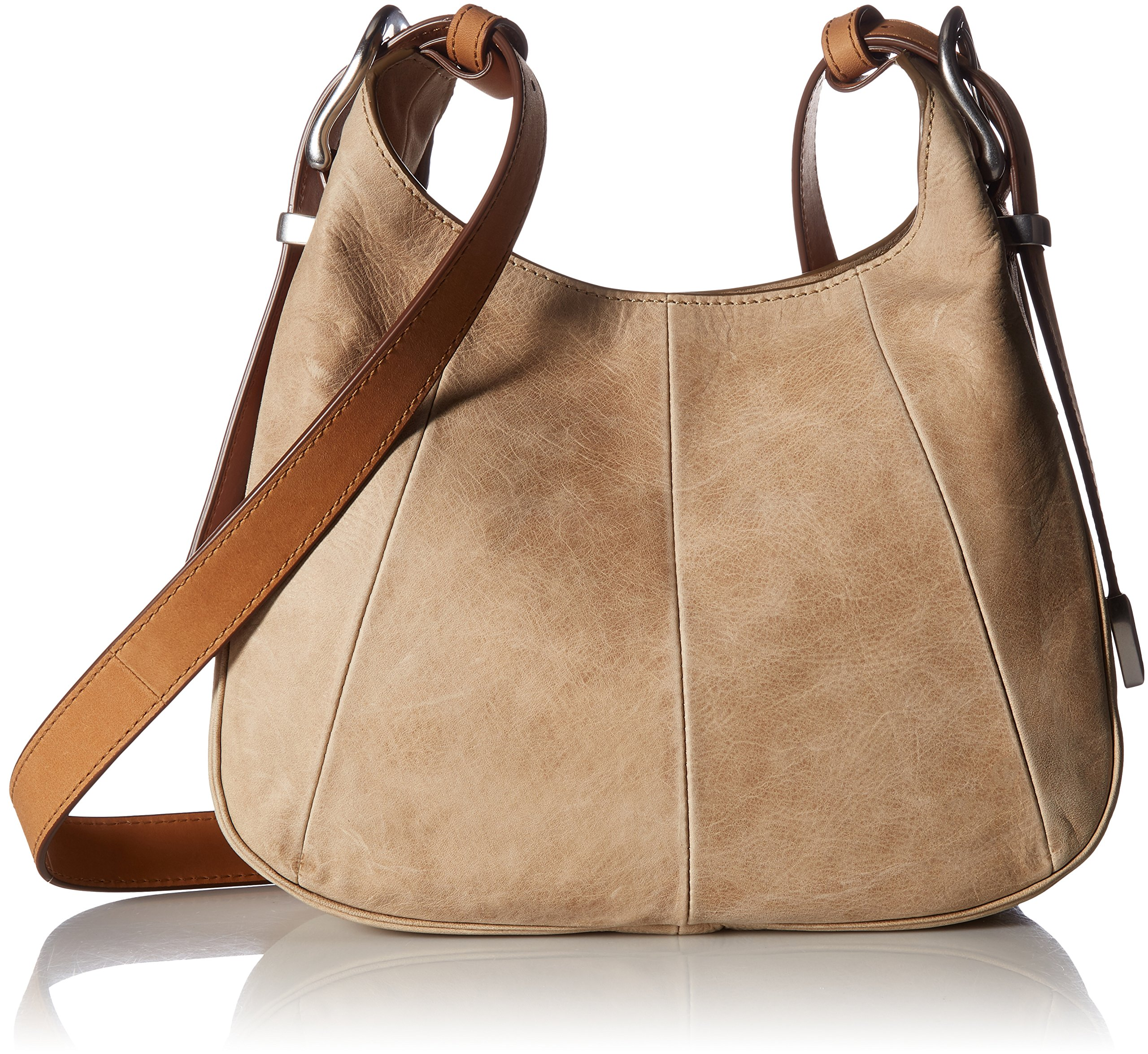 FRYE Jacqui Crossbody Leather Handbag, Sand