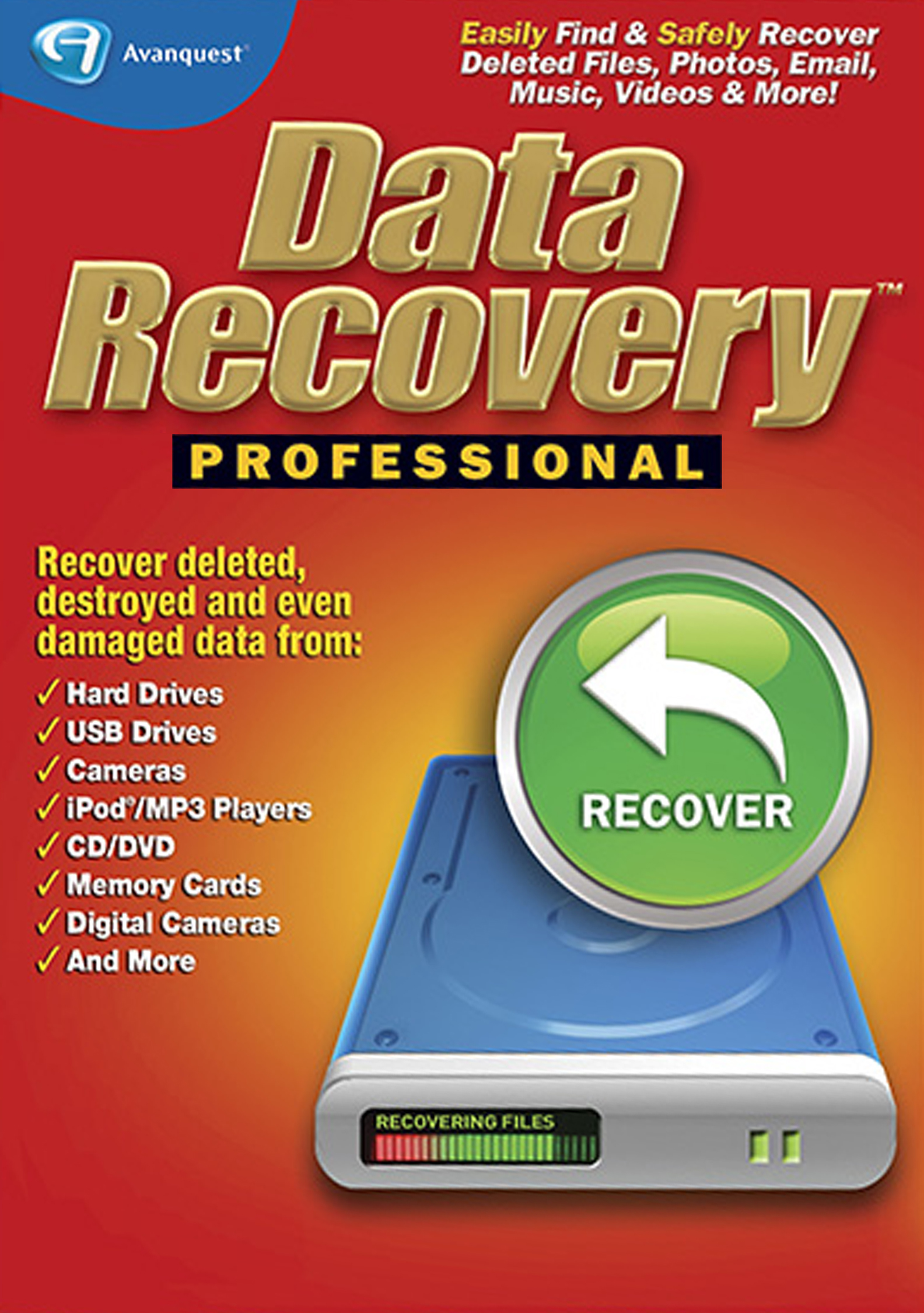 Data Recovery Professional [Download] by Avanquest