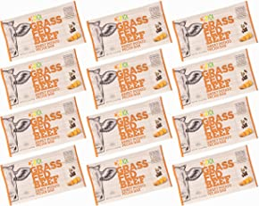 DNX Bar-Grass Fed Beef Whole Food Protein Bar-Sweet Potato Pecan Whole30 Approved Organic Fruits and Veggies, Gluten Free, Non-GMO, No Dairy, Paleo Meat Bar. Truly Epic Taste (12 Bars)
