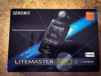 Discontinued Sekonic L-478DR LiteMaster Pro Lightmeter, Replaced with Sekonic L-478DR-U
