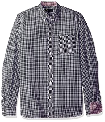 6a9b0a53b Fred Perry Men s Fp Classic Gingham Shirt Casual  Amazon.co.uk  Clothing