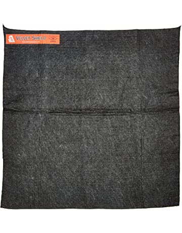 Steiner 316-18X18 Velvet Shield 16-Ounce Black Carbonized Fiber Welding Blanket, 18