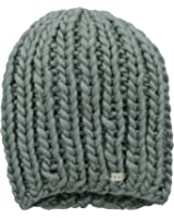 Neff Women's Cara Textured Beanie with Oversized Yarn