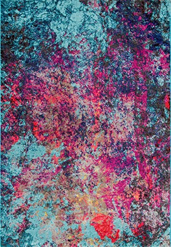 nuLOOM Reva Abstract Area Rug, 8 x 10 , Multi