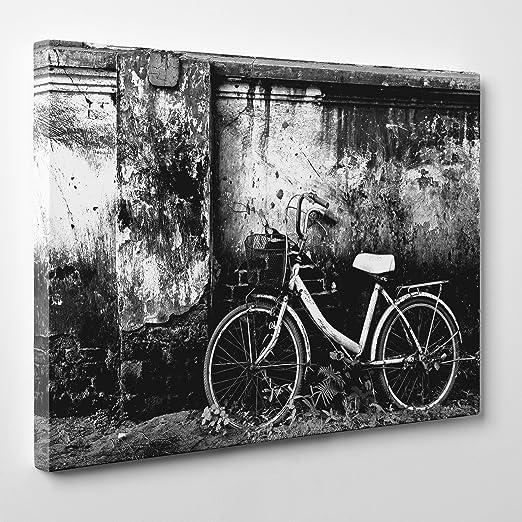 MODERNO lienzo Canvas-Ciclismo parte trasera de bicicleta Holanda ...
