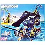 Playmobil 4067 Bateau Pirate avec l'île Black Corsair