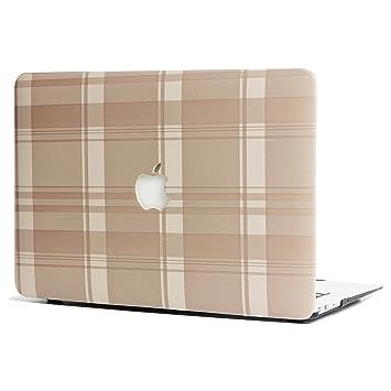 L2W Apple MacBook Accesorios Air Funda ordenador portátil Carcasa Para Apple MacBook Air 13.3 Pulgadas [Modelo inferior:A1369/A1466],Patrón de enrejado ...