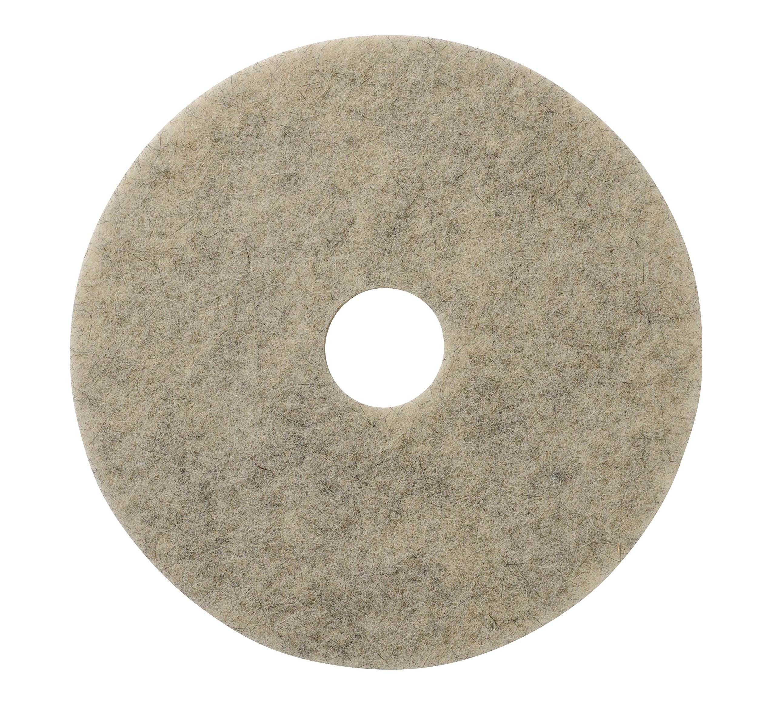 Glit/Microtron 401820 Jackaroo High Gloss Pad, Natural Fiber, 20'', Gray (Pack of 5) by Glit / Microtron