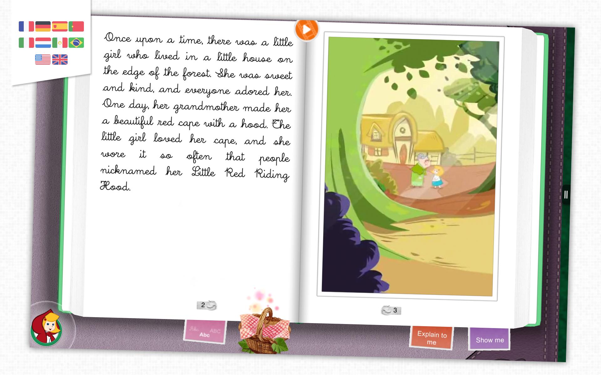Caperucita Roja - Libro animado par niños: Amazon.es