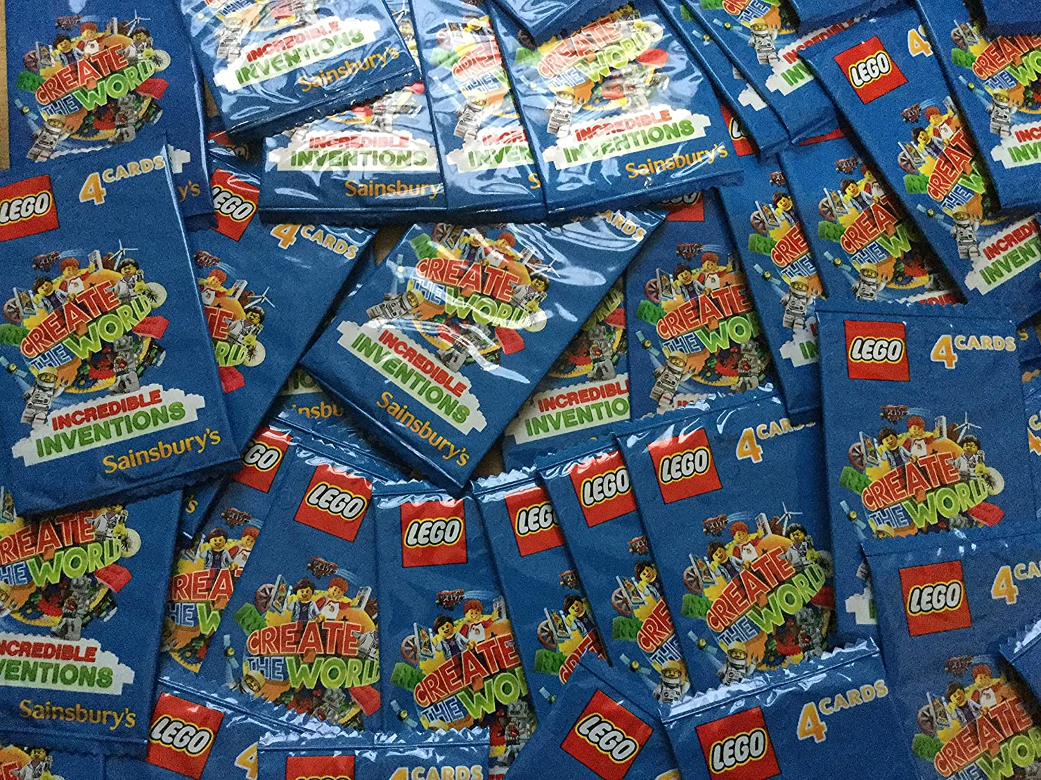 Lego Incredible Inventions Create The World Collectors Card Album With Gift Bag