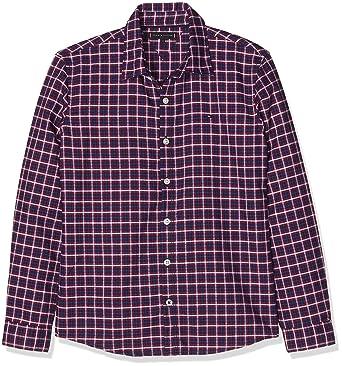 Tommy Hilfiger Jungen Hemd Multicolor Oxford Check Shirt L S  Amazon.de   Bekleidung 04dcc4c48e