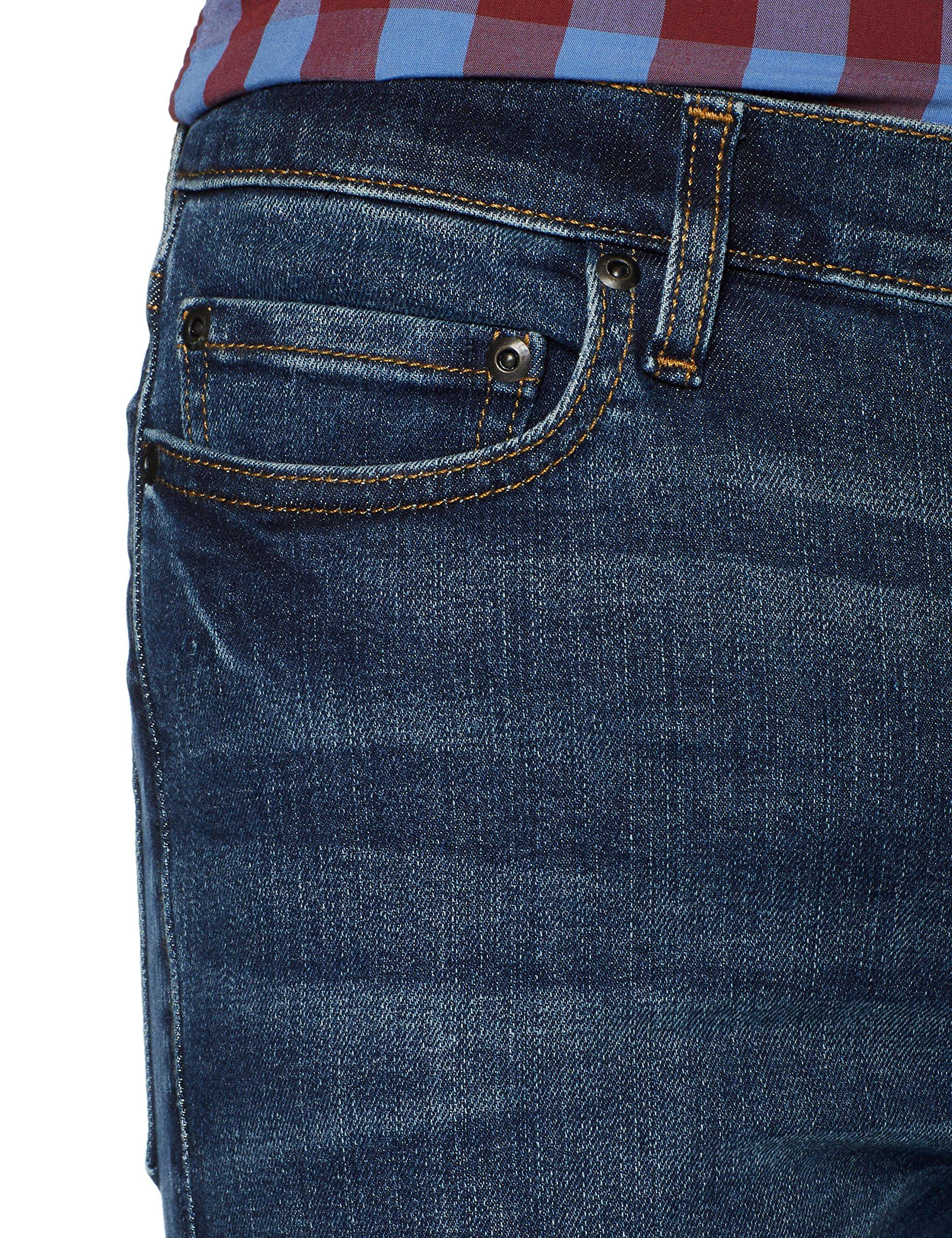 Goodthreads Men's Skinny-Fit Jean, Medium Blue, 38W x 34L by Goodthreads (Image #5)