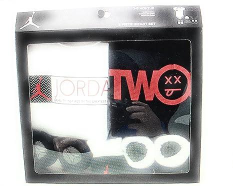 62550411d00 Double kit ensemble bébé jordan rouge blanc noir  Amazon.fr ...