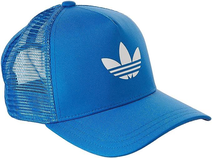 adidas Trefoil snapback blue white